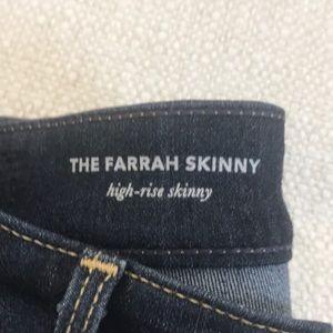 Ag Adriano Goldschmied Jeans - AG dark wash high rise skinny